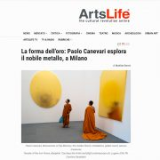 La forma dell'oro: Paolo Canevari esplora il nobile metallo, a Milano