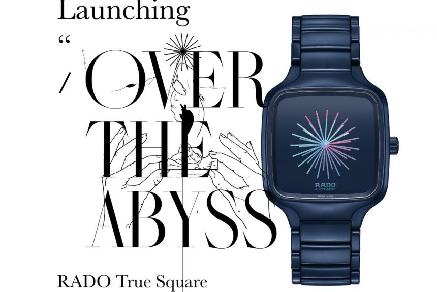 """Launching """"OVER THE ABYSS"""" RADO True Square by Thukral and Tagra"""